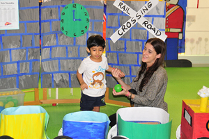 Fun and learning at Cambridgeshire day care center