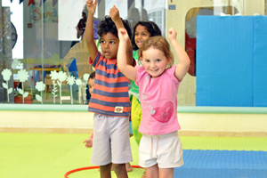 Fun activities at First Steps' base room