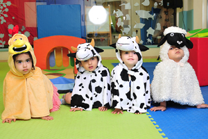 Story tellings and play at Cambridgeshire holiday camps