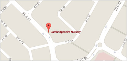 Locate CambridgeShire Nursery
